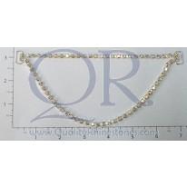 "AB 7 ¾ "" 2 Row Loose Drape Chain Connector"