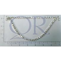 "7 ¾ "" 2 Row Loose Drape Chain Connector"
