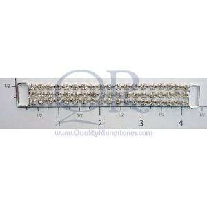 4 1/4 3 Row Medium Chain Connector